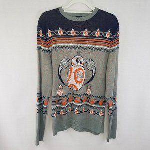Star Wars men's medium sweater with BB8